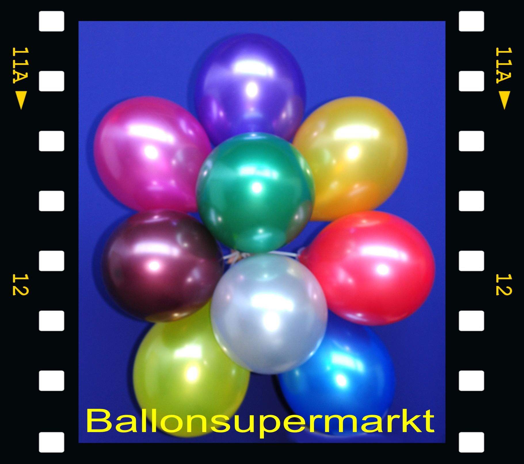 Video: Luftballons Metallic